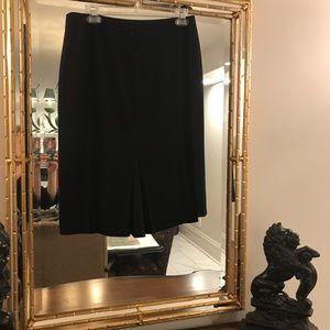 Ann Taylor Black Pencil Skirt Sz 8